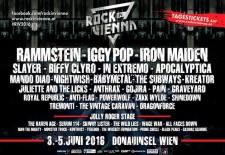 Rock In Vienna 2016 už tento víkend: časový rozpis a dôležité informácie!