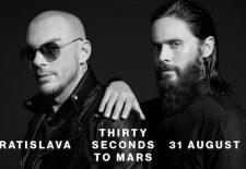 Slovenský fanúšik sa stretne s Jaredom a Shannonom Letom z Thirty Seconds To Mars