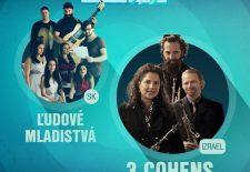 Jazzáky s Ľudovými Mladistvami a 3 Cohens Sextet už v sobotu