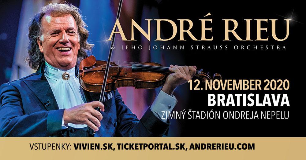 Koncert kráľa valčíkov André Rieu sa presúva na 12. november 2020