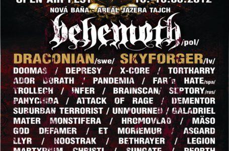"""Vládou """"zakázaná"""" kapela BEHEMOTH opäť na Slovensku"""