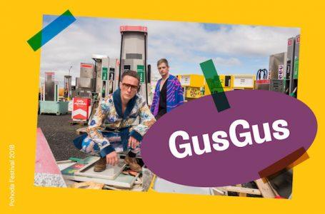 GusGus na letnom festivale Pohoda 2018