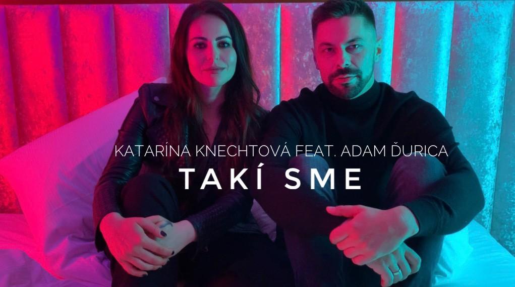 """Katarína Knechtová predstavuje duet sAdamom Ďuricom """"Takí sme"""", sexi klip nakrúcala na zámku!"""