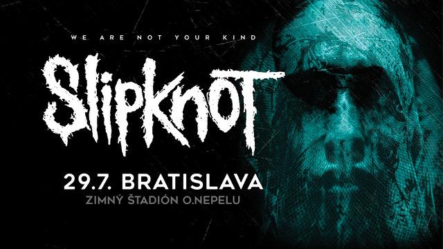 SLIPKNOT prvýkrát zavítajú na Slovensko!