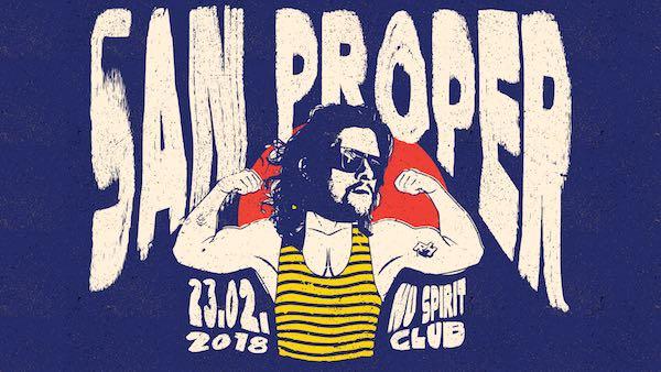 DJ San Proper zahrá budúci týždeň v Nu Spirit Clube v Bratislave!