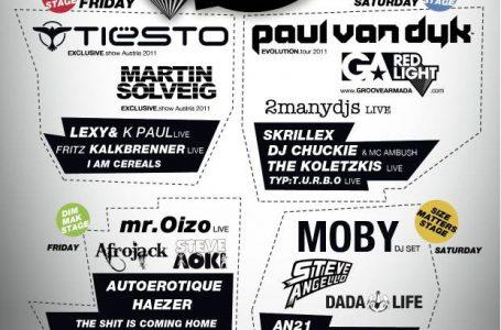Na festivale BEATPATROL vystúpi Tiesto, Paul van Dyk, Moby, Martin Solveig aj slovenský B-Complex!