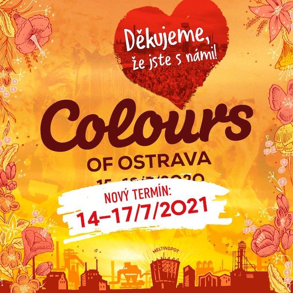 Twenty One Pilots, The Lumineers a LP sú ďalšími hviezdami Colours of Ostrava 2021