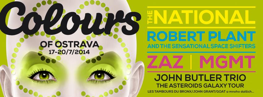 VYHODNOTENÉ: Súťaž o 2×2 vstupy na festival Colours of Ostrava 2014!