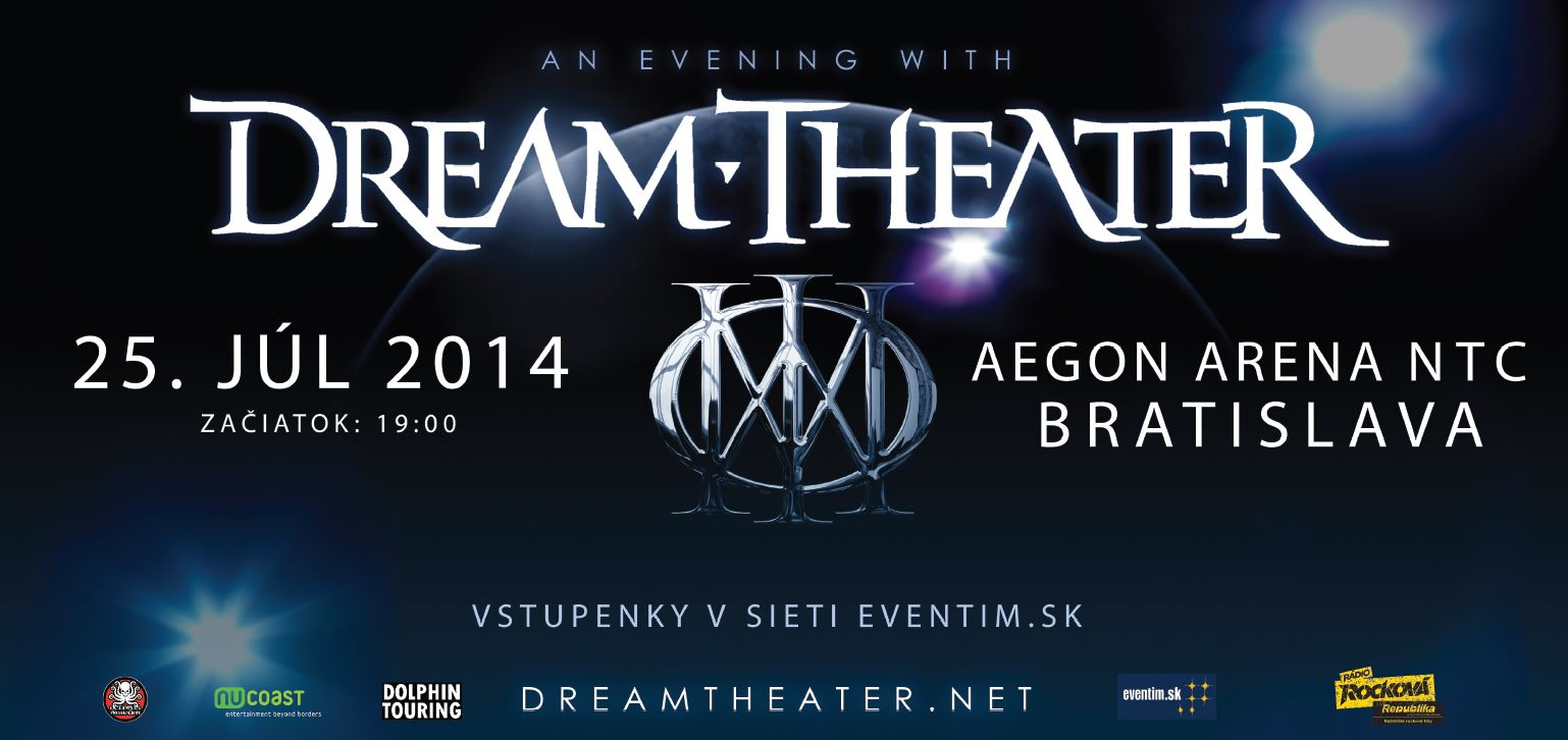 VYHODNOTENÉ: Súťaž o 1×2 lístky na koncert Dream Theater v Bratislave (+CD)