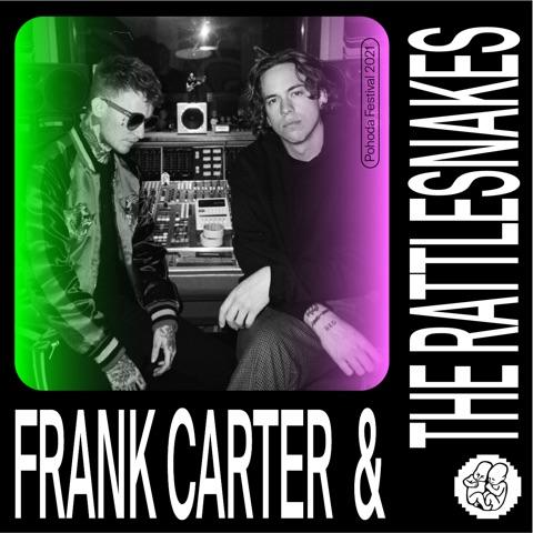 Frank Carter & The Rattlesnakes na Pohode 2021 + nová výzva Pohoda Visual Art Contest