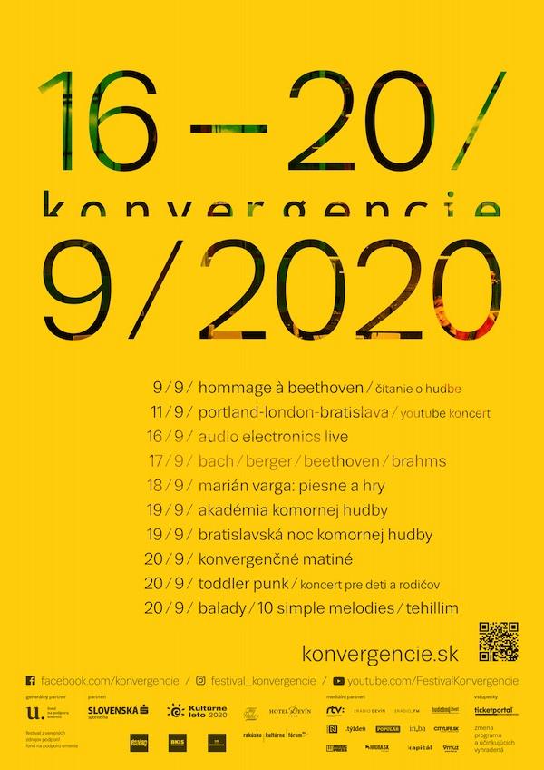 Konvergencie spájajú. Predstavujeme program 21. ročníka festivalu Konvergencie
