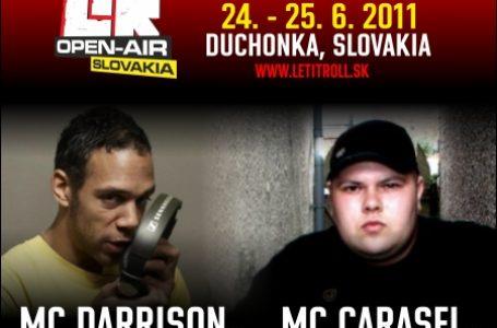 Festival LET IT ROLL Slovakia prináša aj kvalitných MCs !