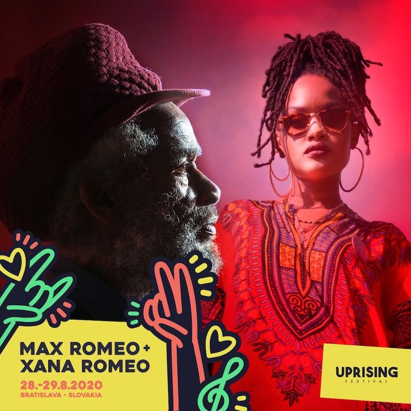 Poznáme prvé mená Uprisingu 2020. Do Bratislavy zavíta reggae legenda Max Romeo aj dnb veterán Roni Size
