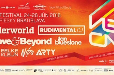 VYHODNOTENÉ: Súťaž o 2×2 vstupenky na NEON festival s Underworld a Rudimental
