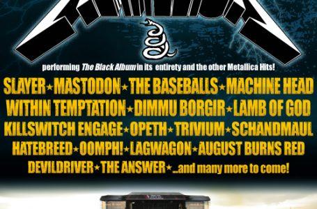 Nova Rock 2012 hlási prvé mená: Metallica, Slayer, Mastodon, The Baseballs, Machine Head, Dimmu Borgir, Lamb of God a mnoho ďalších!
