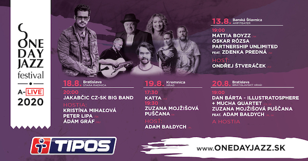 One Day Jazz Festival pokračuje 4 koncertami pre verejnosť