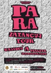 """Skupina Para v apríli vyráža na """"Zatancuj"""" tour !"""