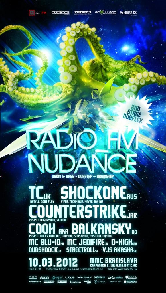 Vyhodnotené: Súťaž: Vytancujte sa na dubstep, d'n'b a drumstep na Radio_FM Nudance!