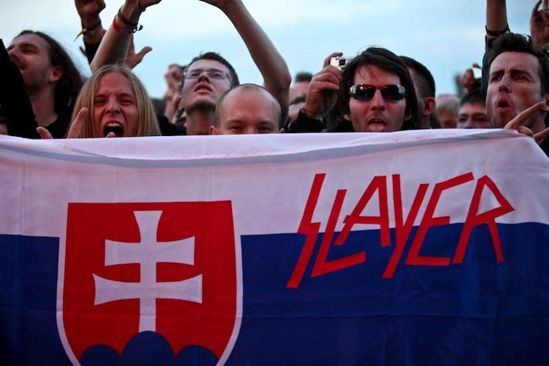 Skupinu Slayer privezie do Bratislavy 7 kamiónov a 3 autobusy!