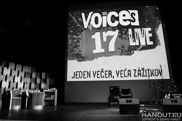 Voices Live 17 o skvelej hudbe, vodiacich psíkoch ale aj prvej dáme slovenského stand-upu