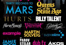 Queens of the Stone Age, Thirty Seconds to Mars, Hurts, Billy Talent či Parov Stelar Band v lete zahrajú necelých 100 km od slovenských hraníc!